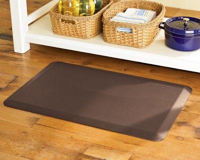 frontgate mats tan fatigue kitchen mat wellness anti fancy