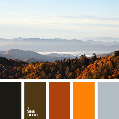 Цветовая палитра №3047 | IN COLOR BALANCE