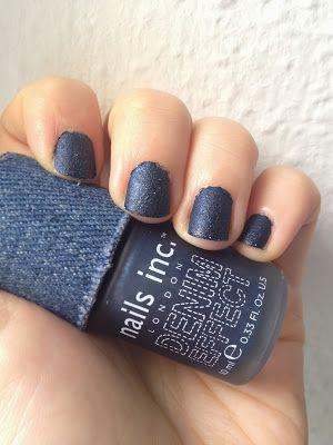 Denim Nails!