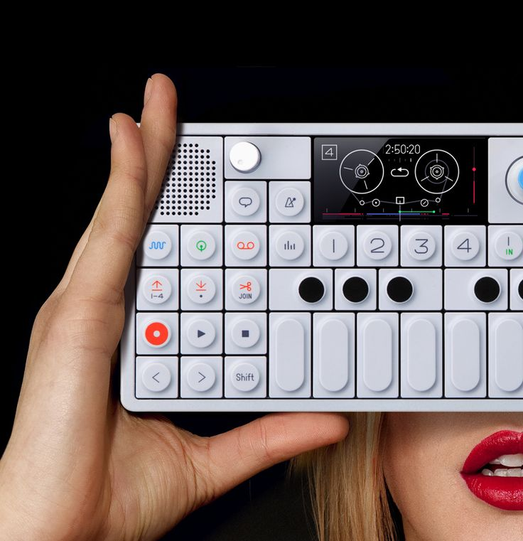 Teenage Engineering  OP-1 is the all-in-one portable Synthesizer, Sampler and Controller. With additional features like the FM Radio and an assignable G-Force sensor for motion controlled effects. With OP-1's built-in Tape feature you are able to record everything you do on to the 4 tracks, with overdubbing, reverse recording