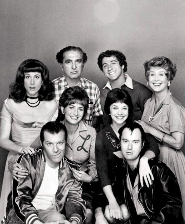 The Laverne and Shirley cast in 1976. (Photo: Wikipedia)