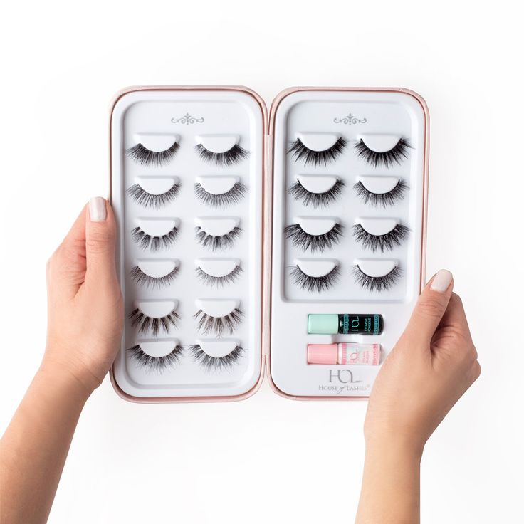 *Lashes & Mini Lash Adhesive Set Sold Separately Need more space for your lash stash? Our Lash Story™ book is a must have for any makeup enthusiast or professional! Our chic Lash Story™ book holds 10