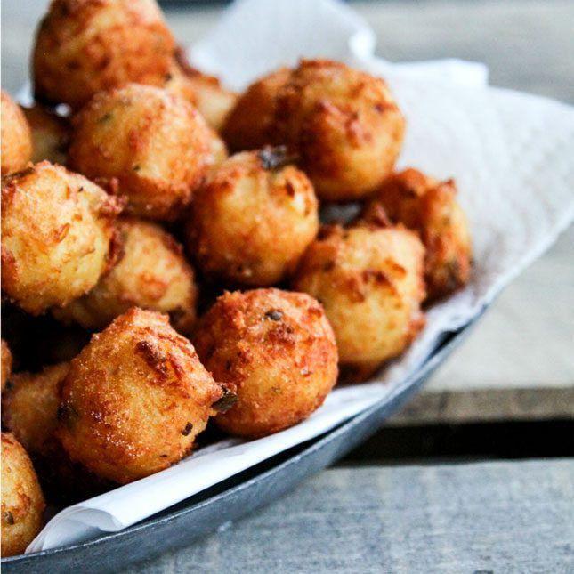 12 Fried Cheese Recipes for When You Want to Treat Yoself via Brit + Co