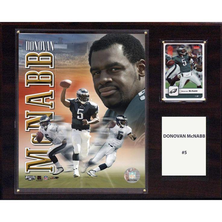 NFL 12in x15in Donovan McNabb Philadelphia Eagles Player Plaque