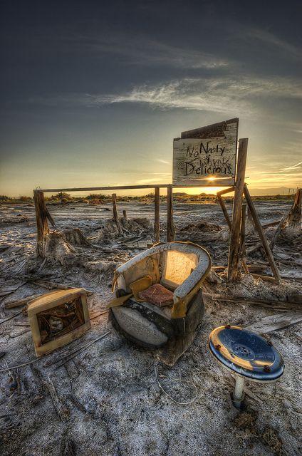 Nasty Delicious Salton Sea, California