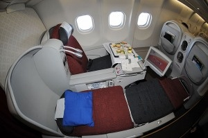 Garuda Airlines Business Class - The frugalfirstclasstravel Review
