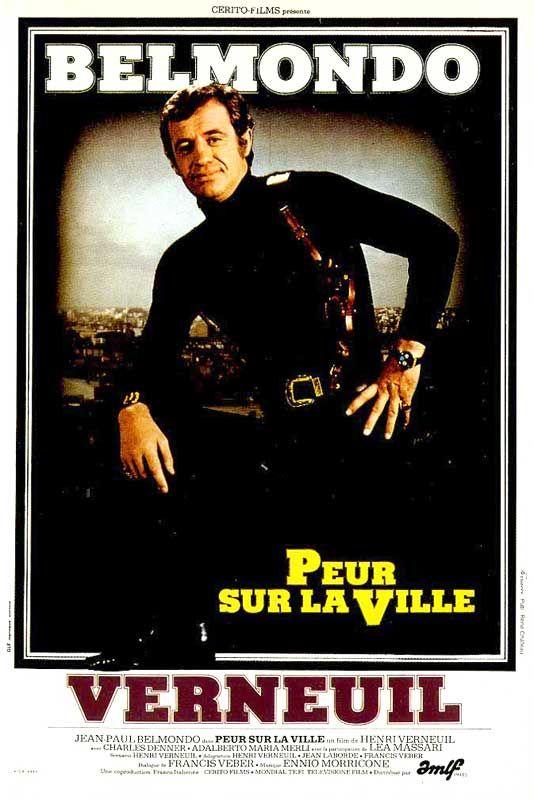 Peur sur la ville est un film policier franco-italien écrit et réalisé par Henri Verneuil, sorti en 1975.  Le film met en vedette Jean-Paul Belmondo dans le rôle d'un commissaire de police parisien traquant un tueur en série qui terrorise la capitale. Dans la distribution, on retrouve également Charles Denner, Adalberto Maria Merli, Léa Massari, ainsi que Rosy Varte et Jean-François Balmer, dont c'est l'un des premiers films. Au dix-septième étage de la tour Les Poissons à Courbevoie,