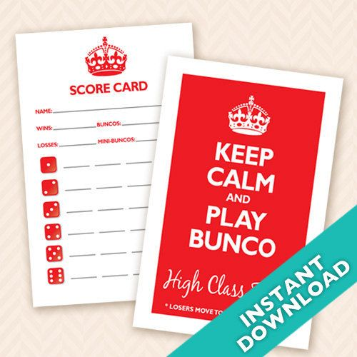 41 best Bunco Funco images on Pinterest Bunco ideas, Bunco - bunco score sheets template