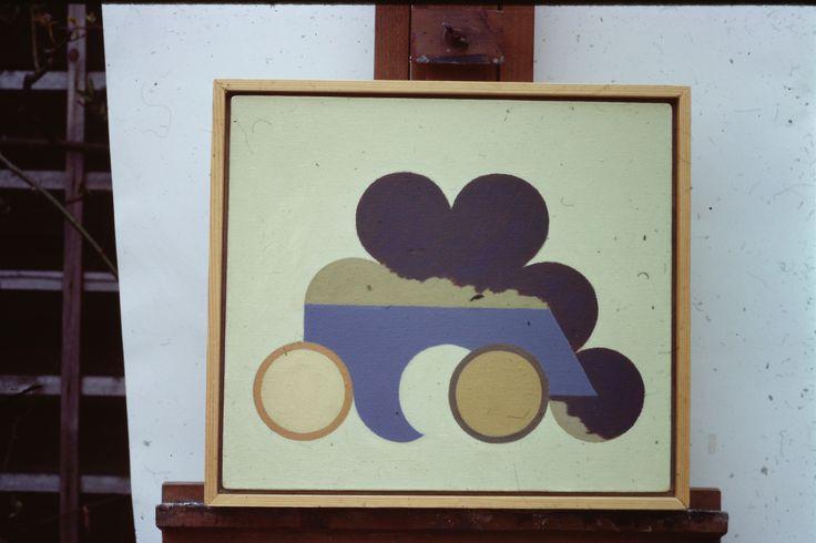 Ian Fraser ARCA  Title: 3 70  Date: January 1970  oil 30cmx34cm
