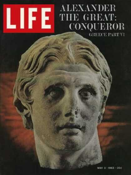 Life 1963 - Alexander the Great conquests - History of Greece