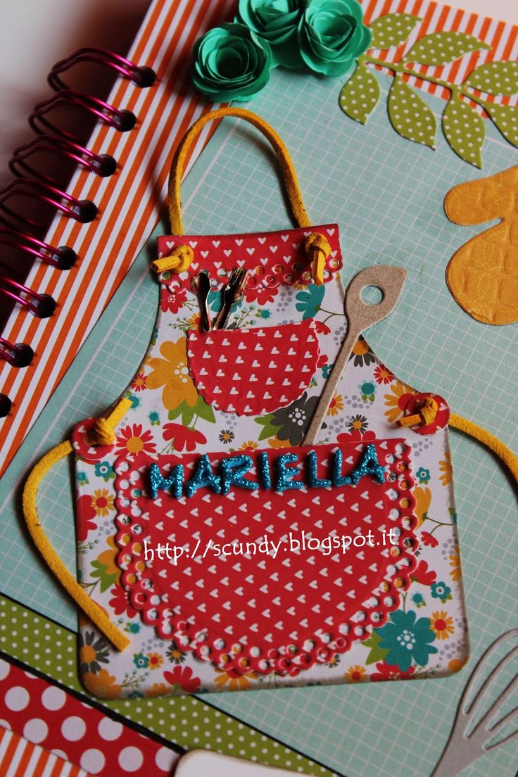 Scundy Scrap and Handmade: Recipe for Mrs. Mariella