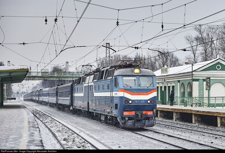 RailPictures.Net Photo: Russian Railways ChS7 at Moscow , Russia by Alexander Anichkin