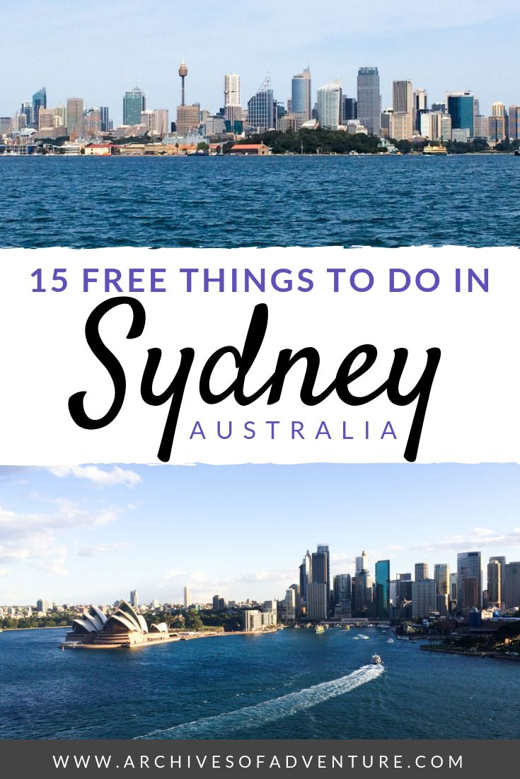 15 Free Things to do in Sydney, Australia