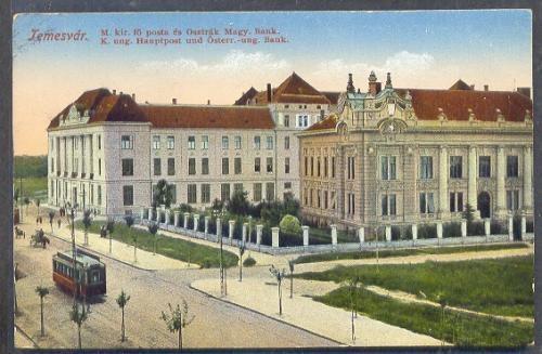 Timisoara - Posta - 1917