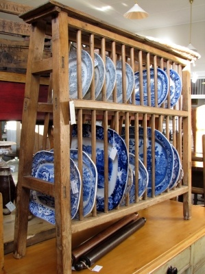 English pine plate rack & 118 best Plate Racks images on Pinterest | Cupboard shelves Home ...