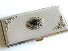 Zigarettenetui Silber viktorianischen Frauen für King Size