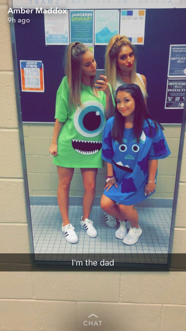 Monsters Inc themed college couples