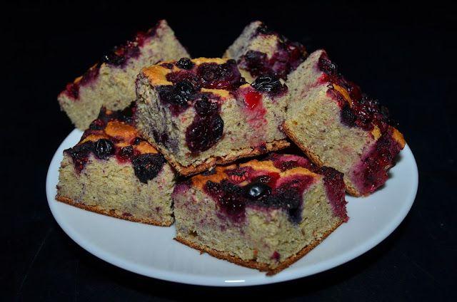 Mlsná máma : Cizrnový koláč s ovocem