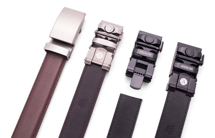 Anson Belt & Buckle | Belts Without Holes. Anson Belt & Buckle offers micro-adjustable holeless belts for men!