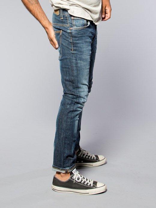 Tape Ted Organic Clean Darkblue - Nudie Jeans Co Online Shop