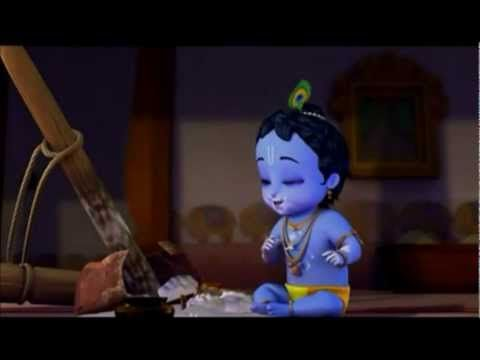 Little Krishna- The Darling Of Vrindavan! :D
