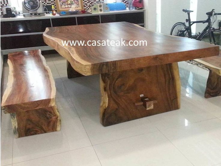 21 Best Suar Wood Dining Table Malaysia Images On