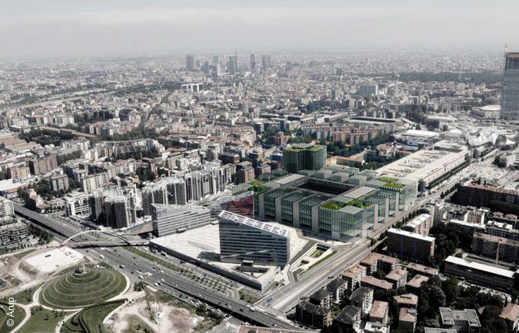 Proiect stadion AC Milan / ARUP