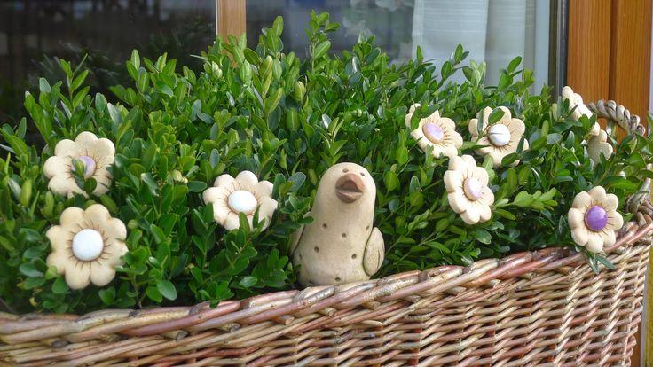 Ze života jedné hrnčířky....: Přišla chuť jarního zdobení....
