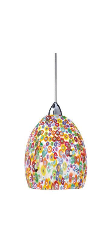 WAC Lighting G515 Replacement Glass Shade for 515 Pendant from the Fiore Collect Millefiore Accessory Shades Shades