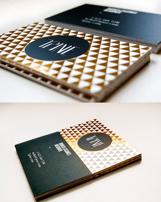 66 best gold foil images on pinterest build your own desk and really like the gold foil and pattern foil business cardsgold reheart Choice Image