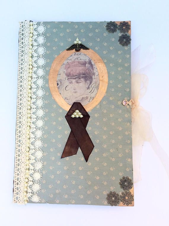 Freckle Me Pretty Journal / Diary / vintage / Victorian /