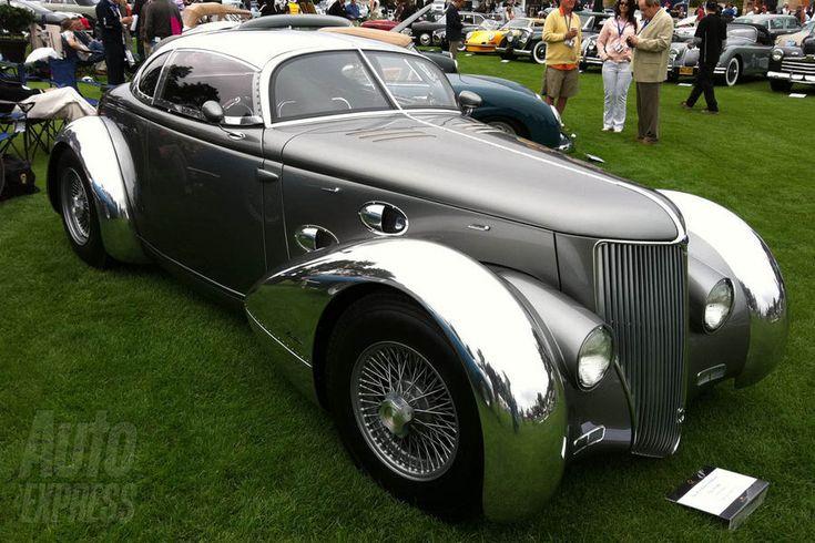 1936 Ford Aerosport. Dsd