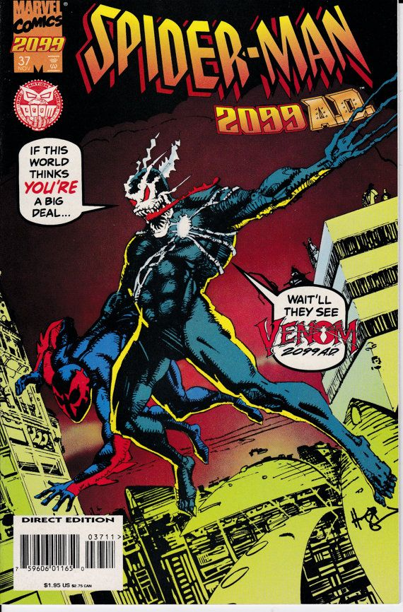 Spider-Man 2099 37A November 1995 Issue Marvel by ViewObscura