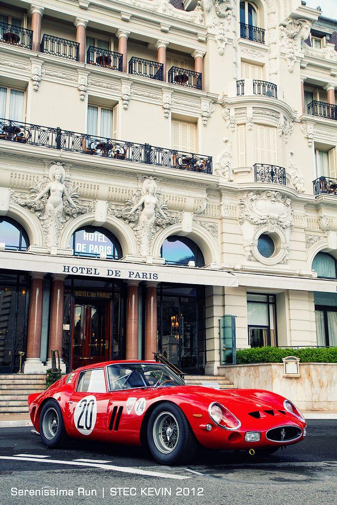 SUPERB CARS (AP) -      Ferrari 250 GTO in front of Hotel de Paris in Monte Carlo...
