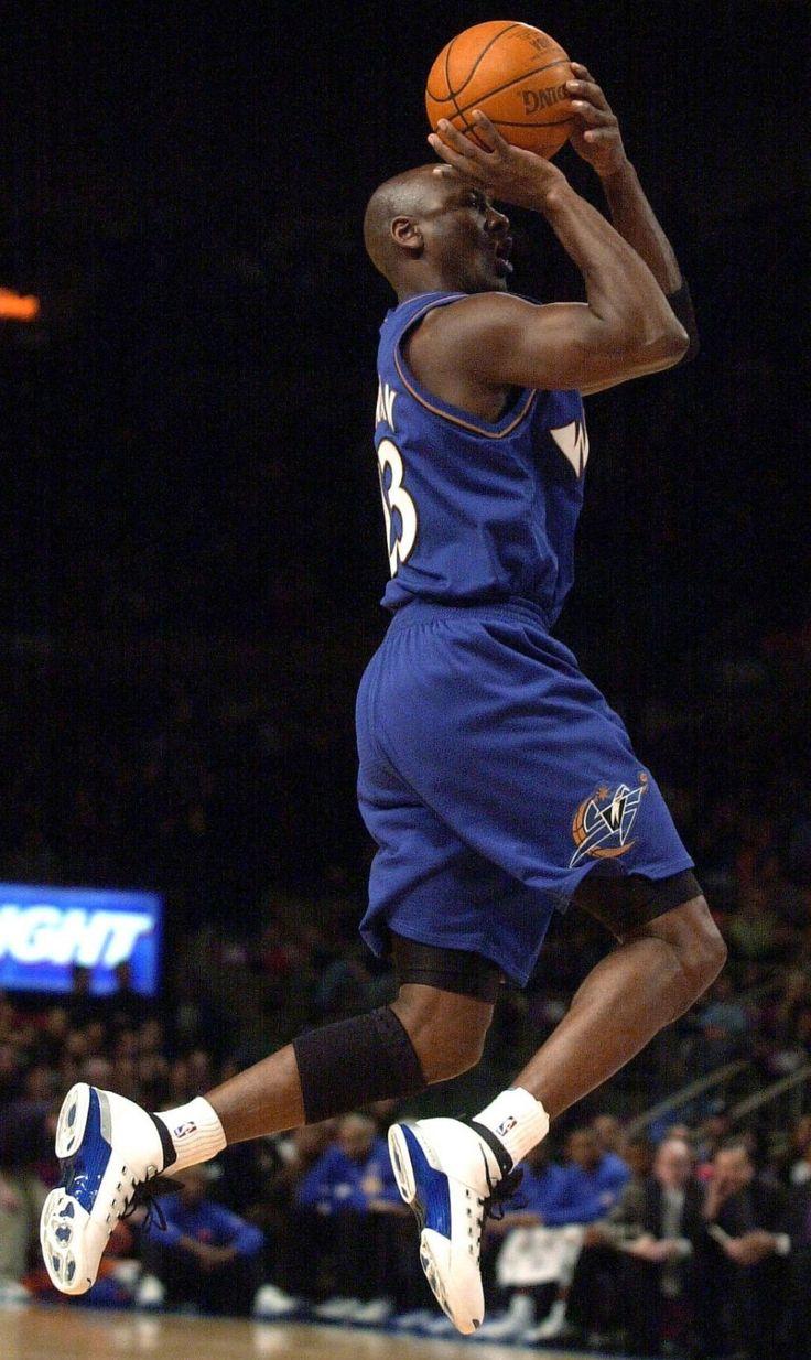 Michael Jordan - Washington Wizards, 2001–2003