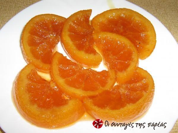 Γλυκό κουταλιού πορτοκάλι στο φούρνο #sintagespareas
