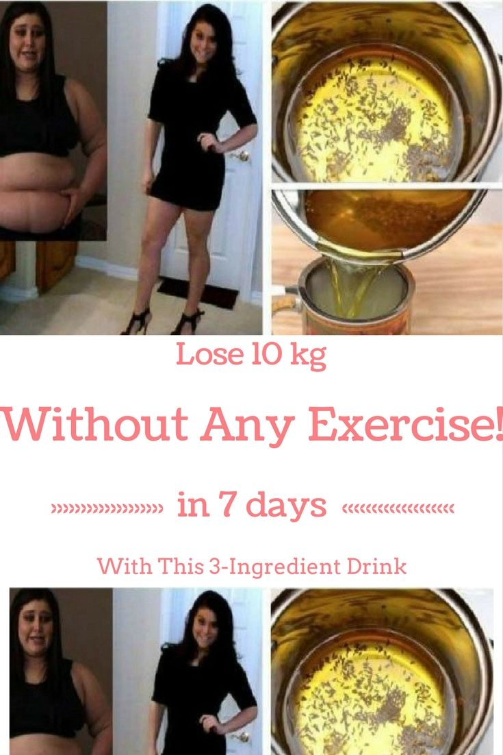 I Lost 10 kg in Just 7 Days With This 3-Ingredient Drink (Without Any Exercise!)