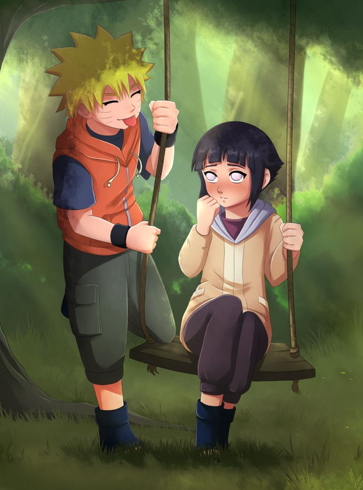 CM:Little Naruto and Hinata by xXUnicornXx on DeviantArt