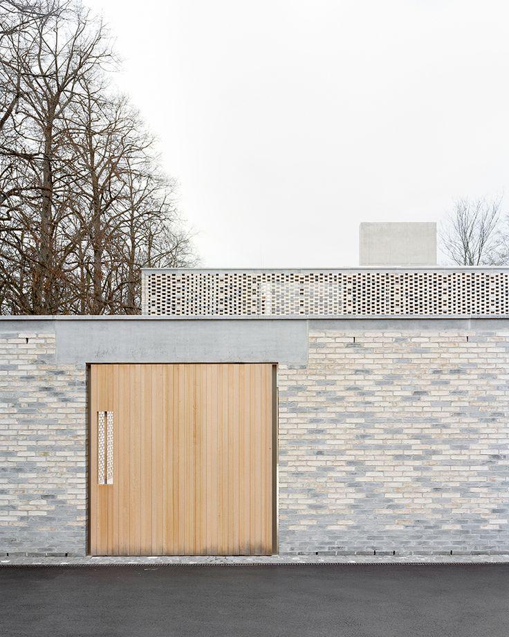 Gallery of Crematory in Basel / Architekturbüro Garrigues Maurer - 8