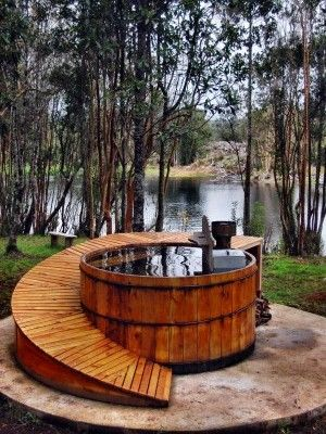 17 best ideas about outdoor hot tubs on pinterest hot for Hot tub designs and layouts
