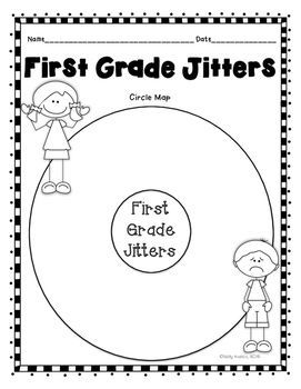 First grade jitters first day jitters back to school for First day jitters coloring page