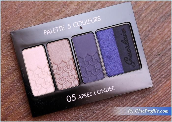 Guerlain Apres L'Ondee 5 Couleurs Palette Review, Swatches, Photos
