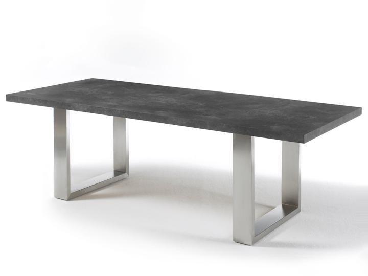 Stone Esszimmertisch Marmor Optik Anthrazit 260x100 Qualtiats Mobel Mca Furniture Die Basics Gestell U Betontisch Wohnzimmer Esstisch Design Esstisch Modern