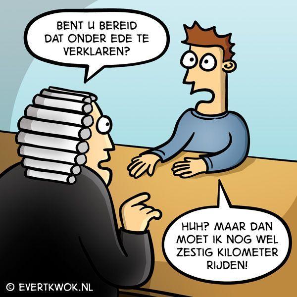 Cartoonlijstje: rechter & advocaat cartoons.