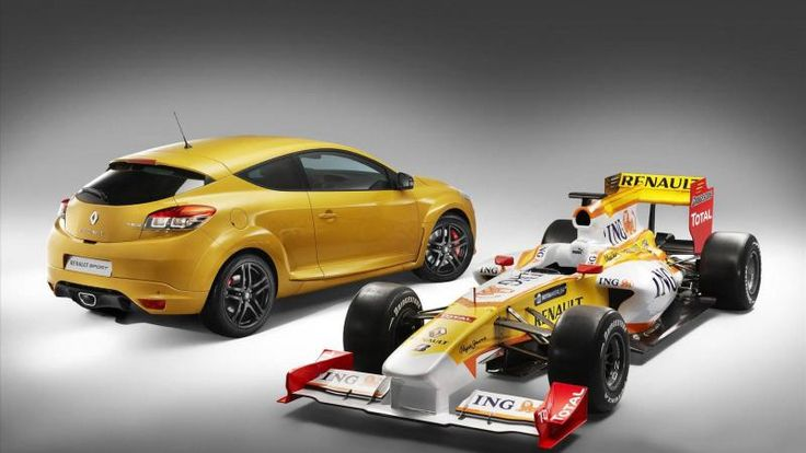 Formula 1 Renault Megane RS