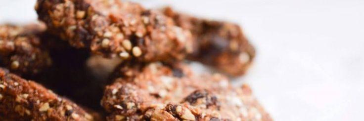Chocolade Chip Cookies met een healty twist             Nodig (voor 15 koekjes):– 1/2 cup havermout– 2 eetlepels spelt– 2 eetlepels amandelmeel– 2 ee