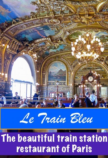 Le Train Bleu at Gare de Lyon is the most beautiful train station restaurant in Paris. Located in Gare de Lyon, this historic and beautiful French restaurant is well worth a visit - even if you're not catching a train.