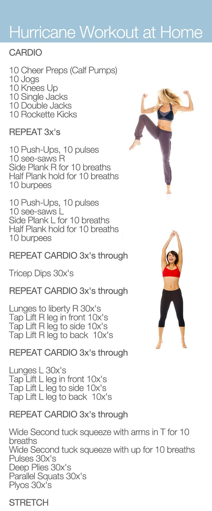 Hurricane Lithe Workout At Home