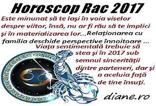 diane.ro: Horoscop Rac 2017