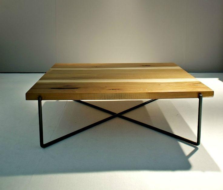 Τραπεζάκι σαλονιού μασίφ ξύλο ακατέργαστο 402